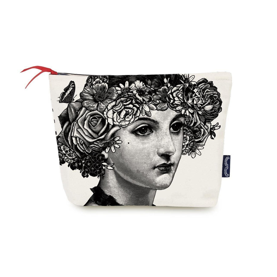 Flower Lady Wash Bag - Chase and Wonder - Proudly Made in Britain