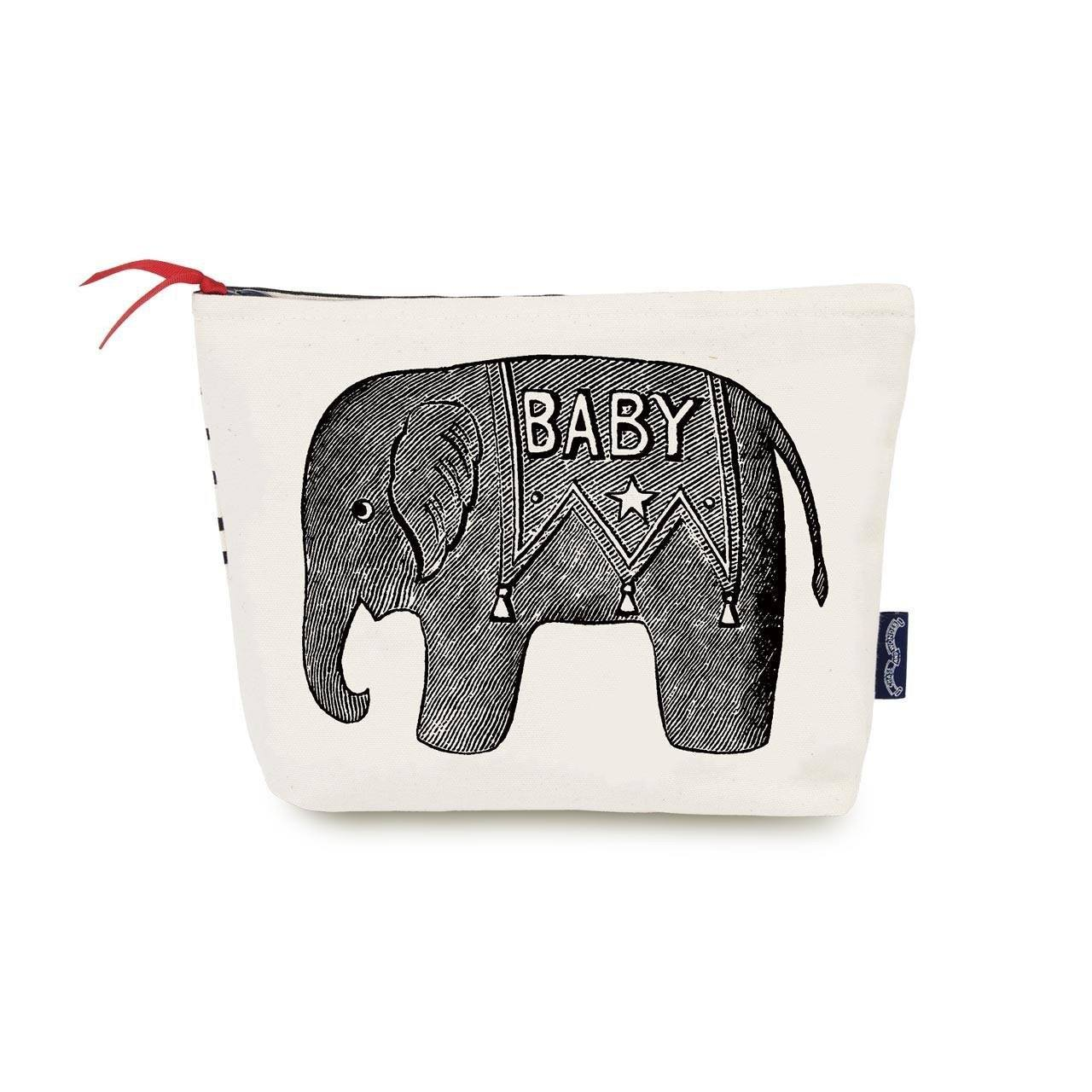 Baby Elephant Wash Bag - Chase and Wonder - Proudly Made in Britain