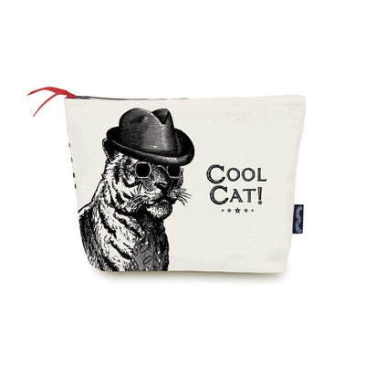 Cool Cat Wash Bag - Chase and Wonder - Proudly Made in Britain