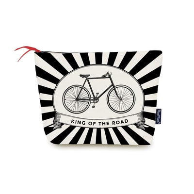 King of the Road Wash Bag - Chase and Wonder - Proudly Made in Britain