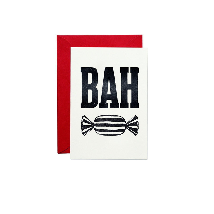 Bah Humbug Greeting Card - Chase and Wonder - Proudly Made in Britain