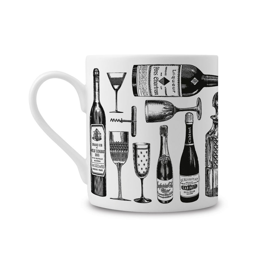 The Wine Lover's Fine China Mug - Chase and Wonder - Proudly Made in Britain
