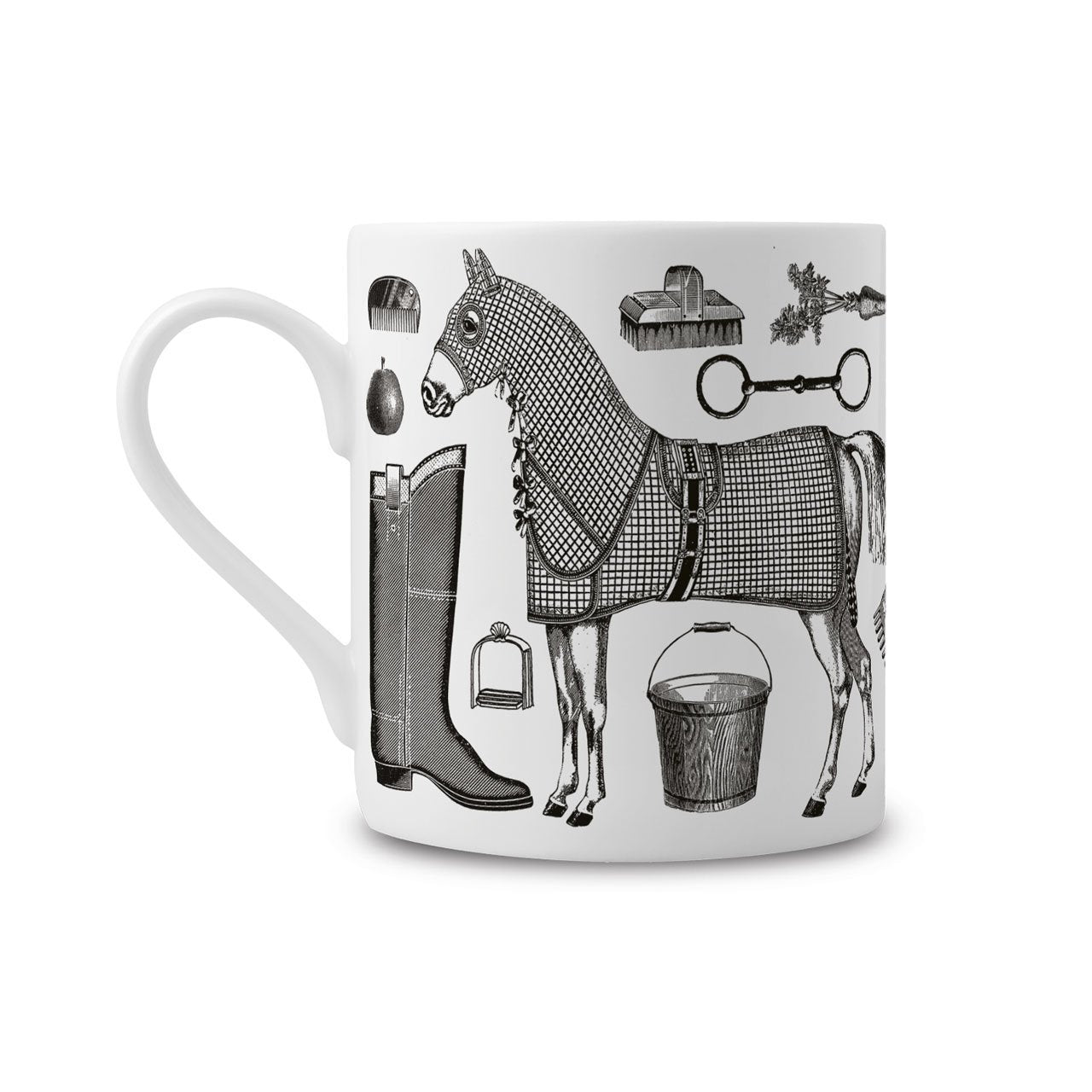 The Horse Lover's Fine China Mug - Chase and Wonder - Proudly Made in Britain