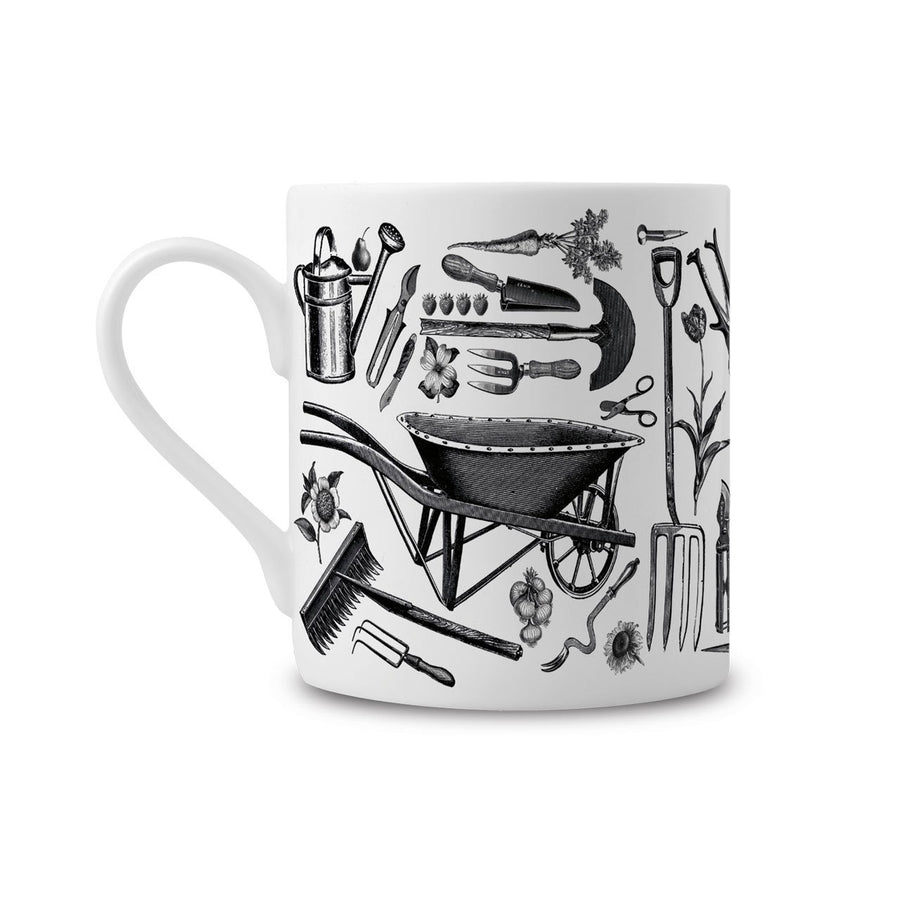 The Gardener's Fine China Mug - Chase and Wonder - Proudly Made in Britain