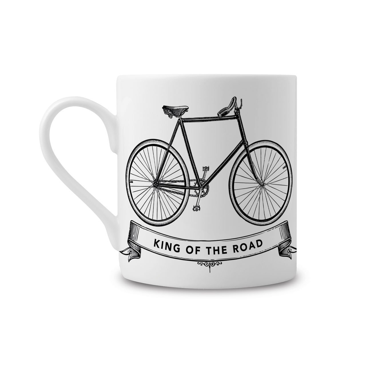 The King of the Road Fine China Mug - Chase and Wonder - Proudly Made in Britain
