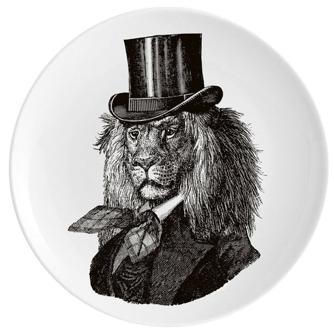 "Dandy Lion Fine China 10"" Plate"