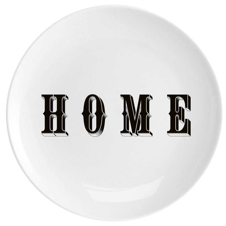 "Home Fine China 10"" Plate - Chase and Wonder - Proudly Made in Britain"