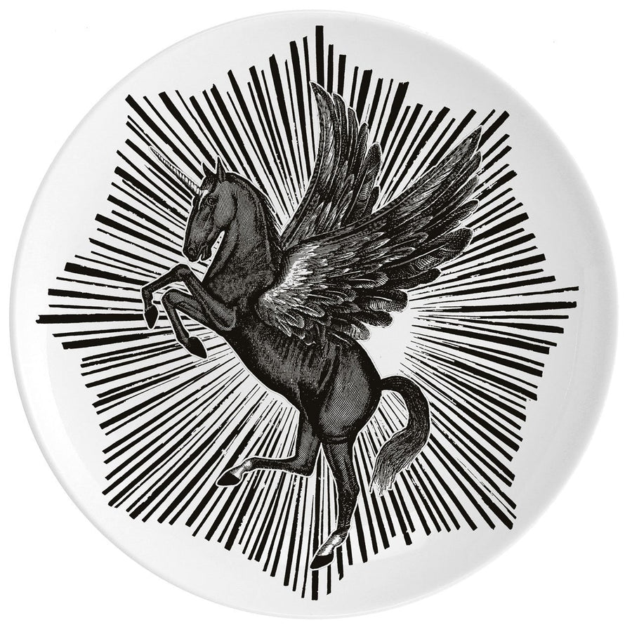 "Pegasus Fine China 10"" Plate - Chase and Wonder - Proudly Made in Britain"