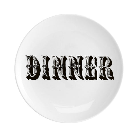 "Dinner Fine China 8"" Plate"