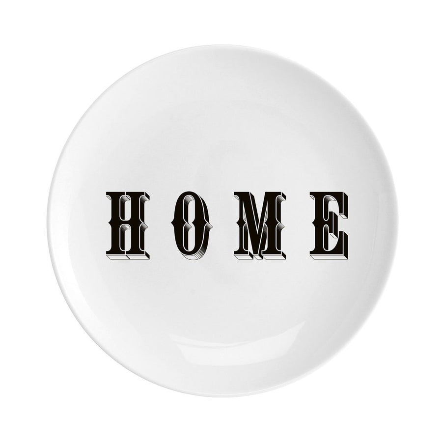 "Home Fine China 8"" Plate - Chase and Wonder - Proudly Made in Britain"