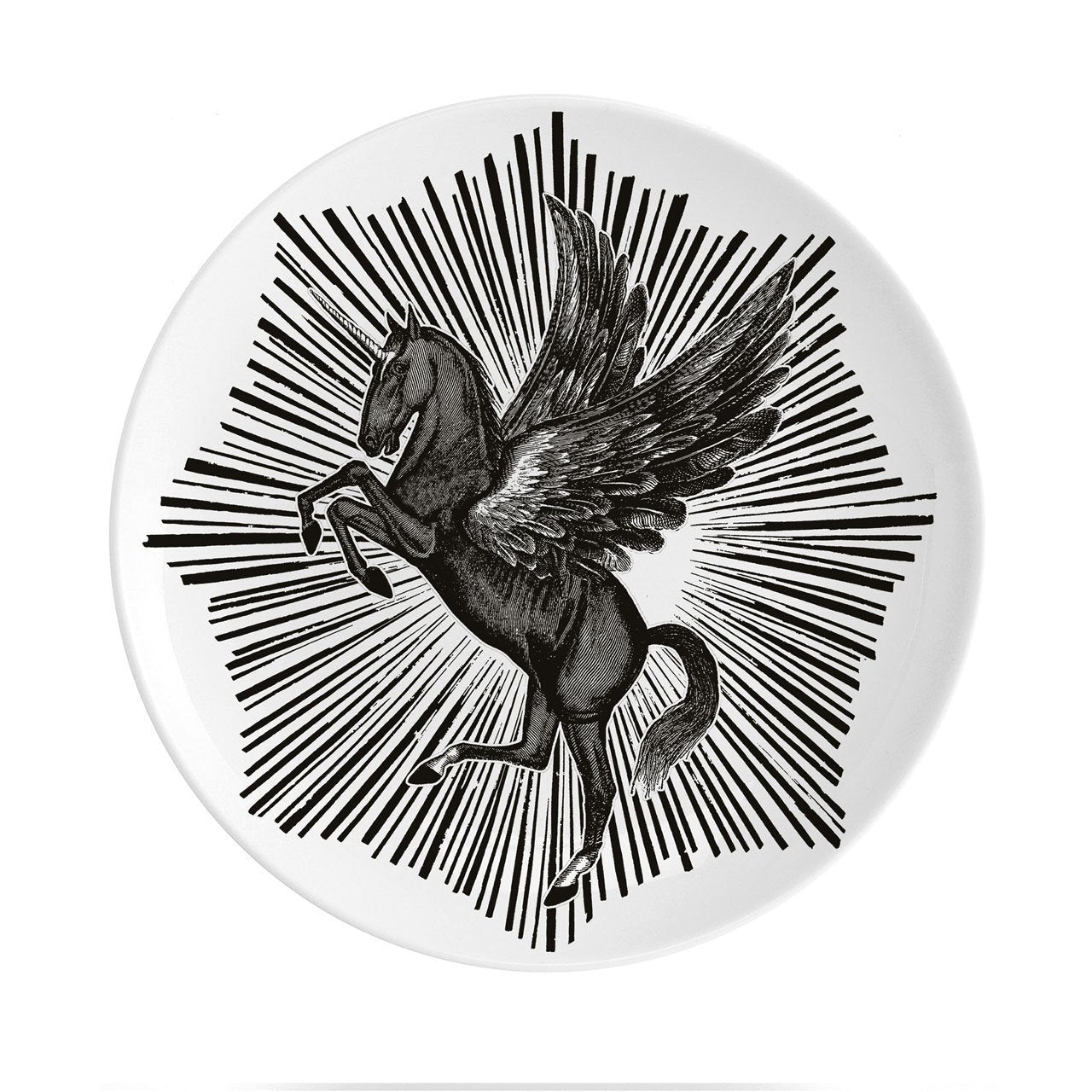 "Pegasus Fine China 8"" Plate - Chase and Wonder - Proudly Made in Britain"