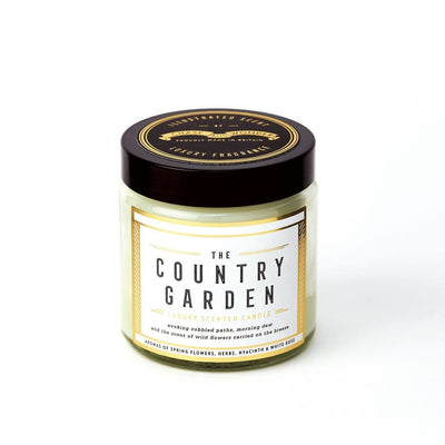The Country Garden Scented Travel Candle