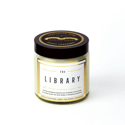 The Library Scented Travel Candle