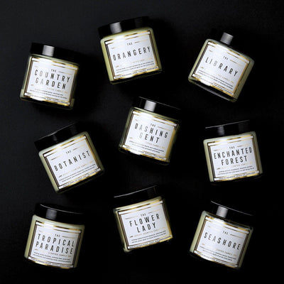 The Library Scented Travel Candle - Chase and Wonder - Proudly Made in Britain