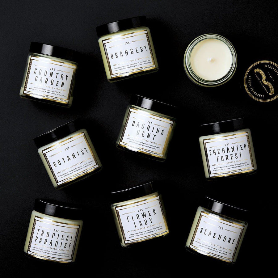 The Dashing Gent Scented Travel Candle - Chase and Wonder - Proudly Made in Britain