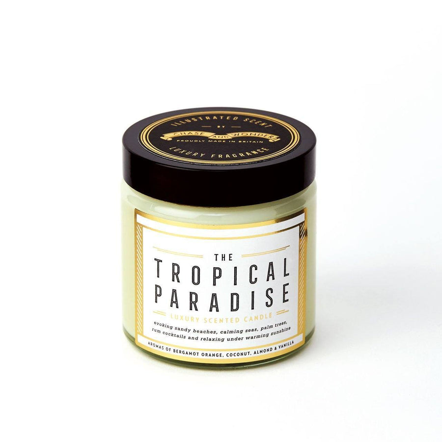 The Tropical Paradise Scented Travel Candle - Chase and Wonder - Proudly Made in Britain