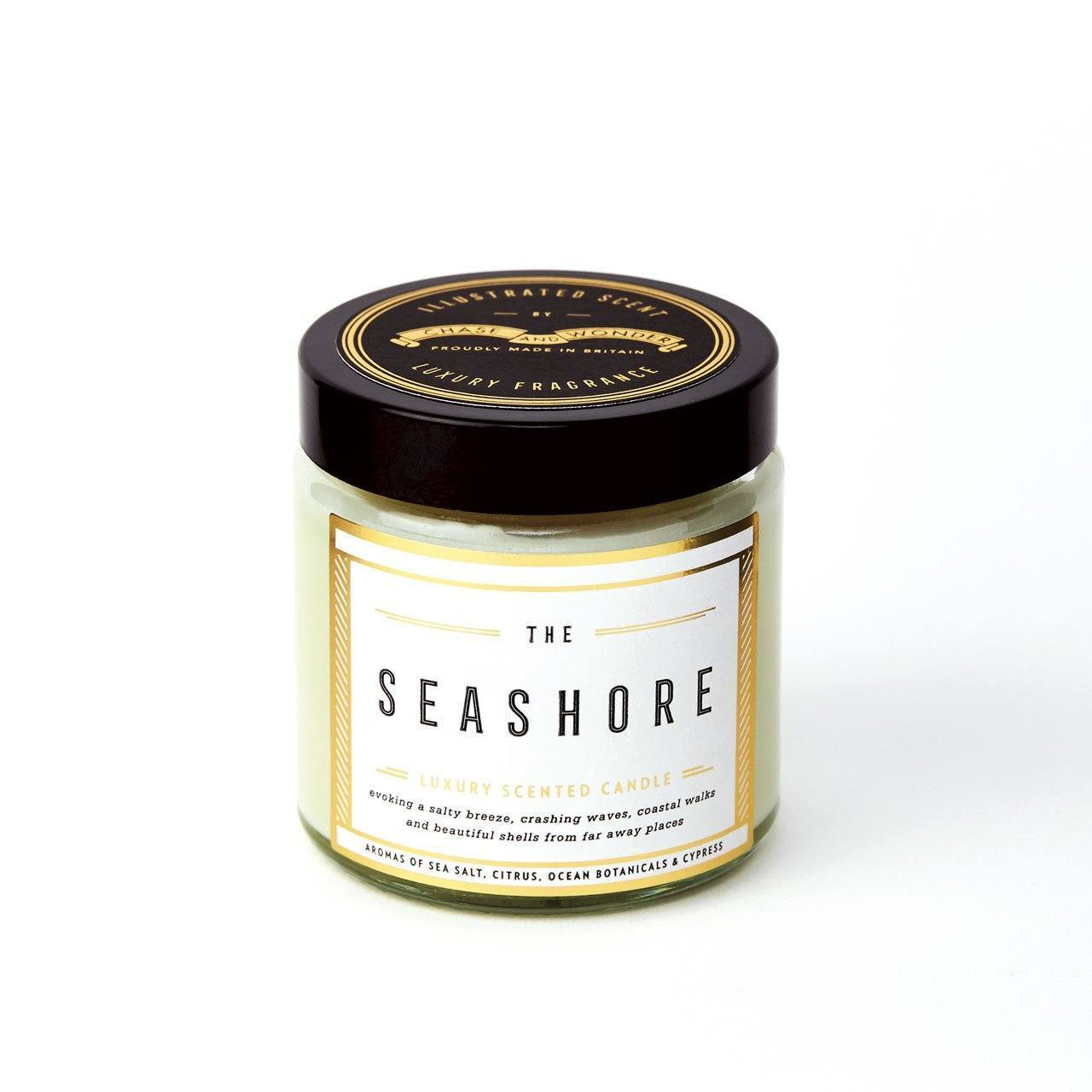 The Seashore Scented Travel Candle - Chase and Wonder - Proudly Made in Britain