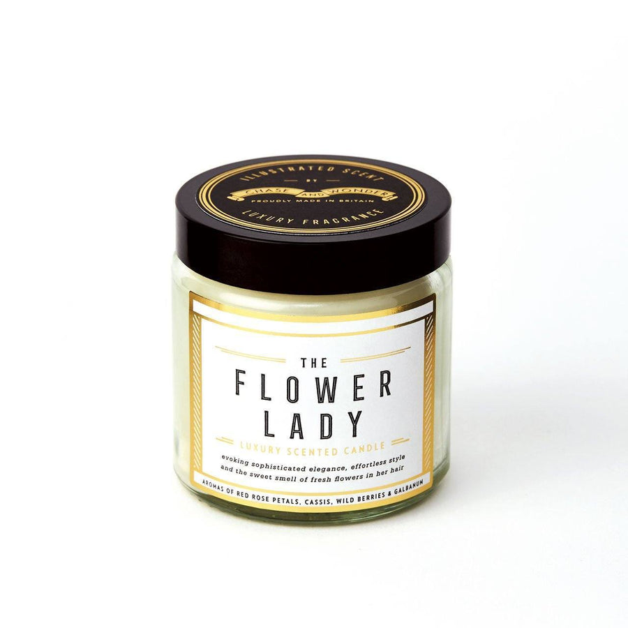 The Flower Lady Scented Travel Candle - Chase and Wonder - Proudly Made in Britain