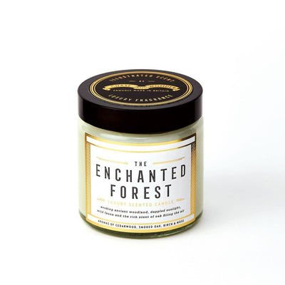 The Enchanted Forest Scented Travel Candle - Chase and Wonder - Proudly Made in Britain
