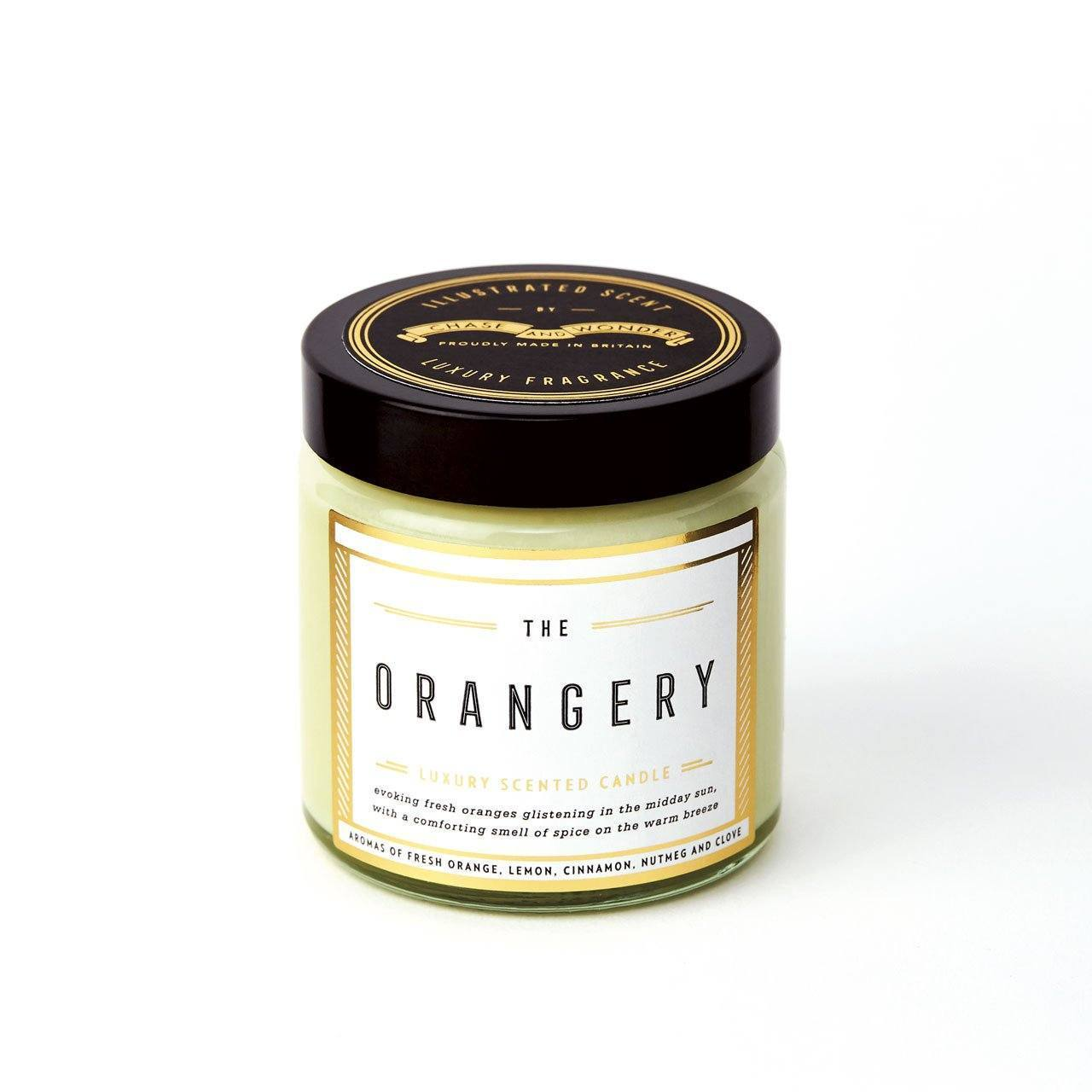 The Orangery Scented Travel Candle - Chase and Wonder - Proudly Made in Britain