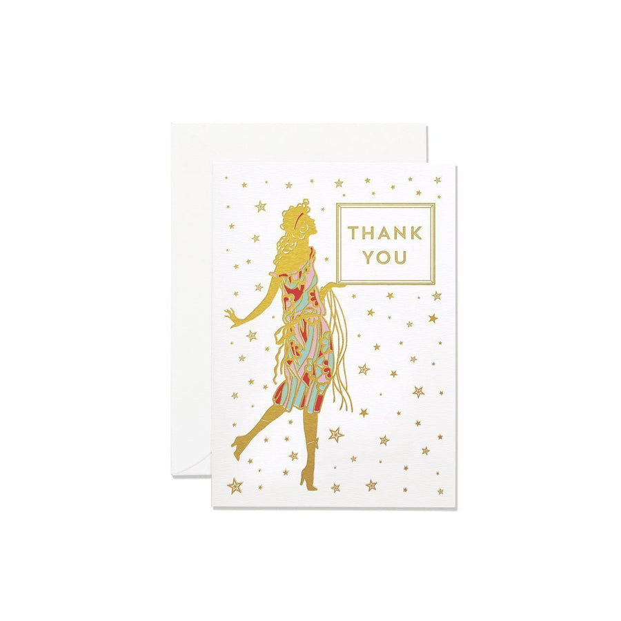 Glamourous Lady Thank You Card Set - Chase and Wonder - Proudly Made in Britain