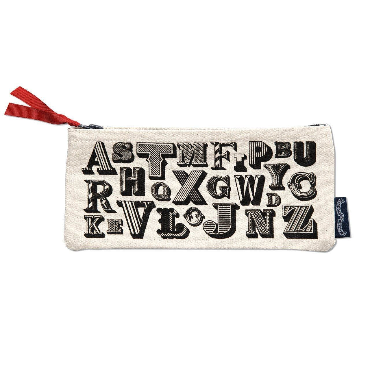 Alphabet Pencil case