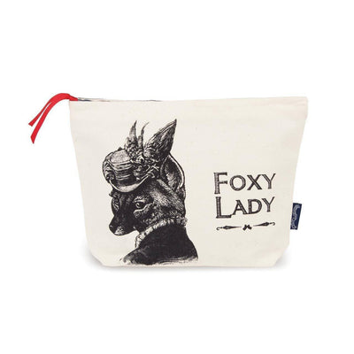 Foxy Lady Wash Bag - Chase and Wonder - Proudly Made in Britain