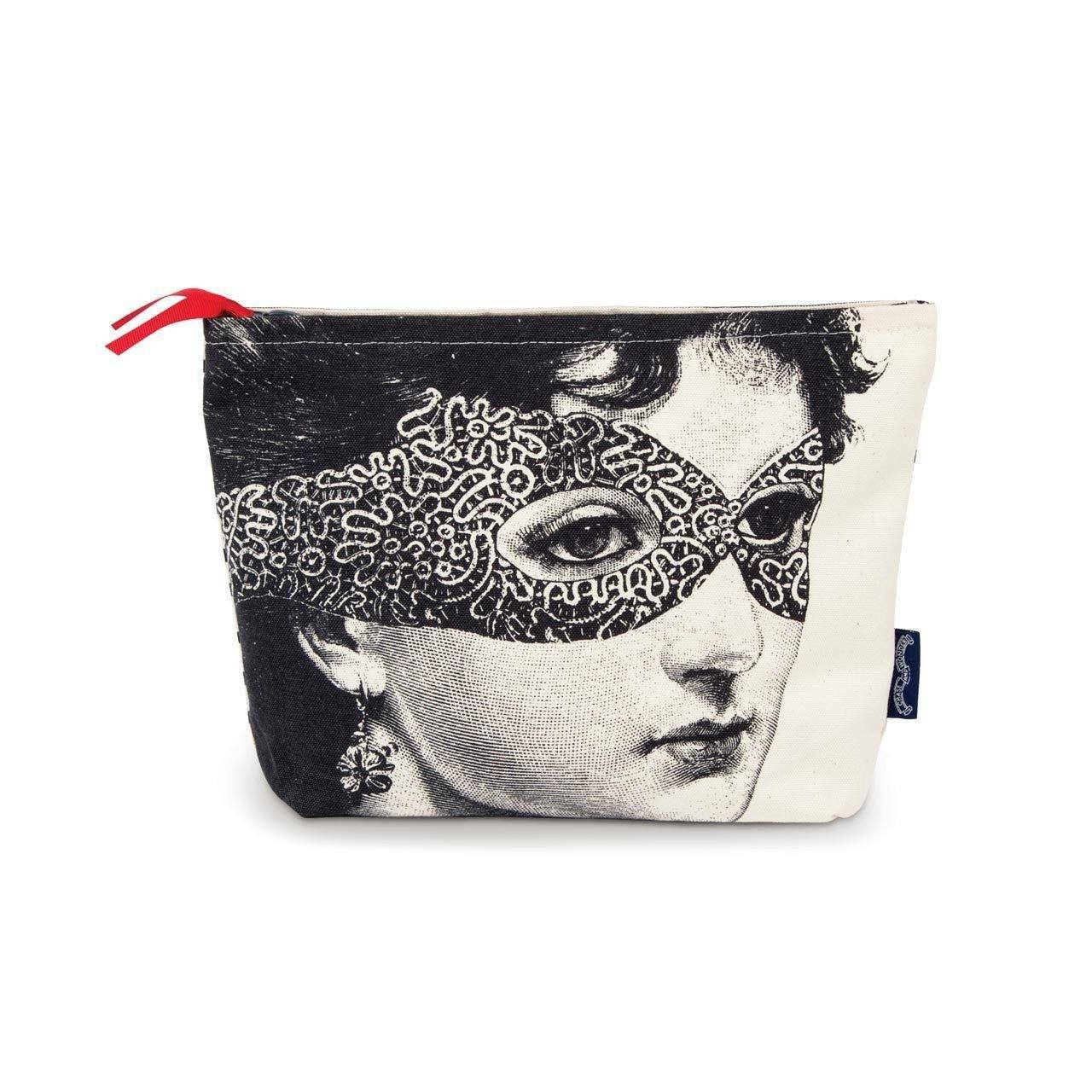 Lady in the Mask Wash Bag - Chase and Wonder - Proudly Made in Britain
