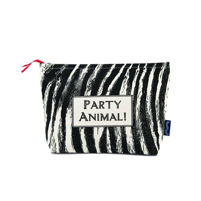 Party Animal Wash Bag (Slight second) - Chase and Wonder - Proudly Made in Britain