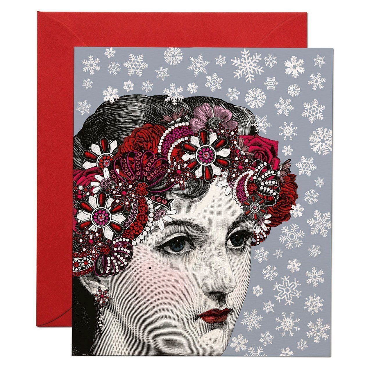 The Snow Princess greeting card