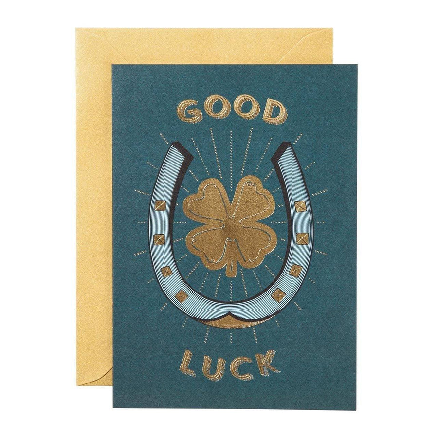 Good Luck Greeting Card - Chase and Wonder - Proudly Made in Britain