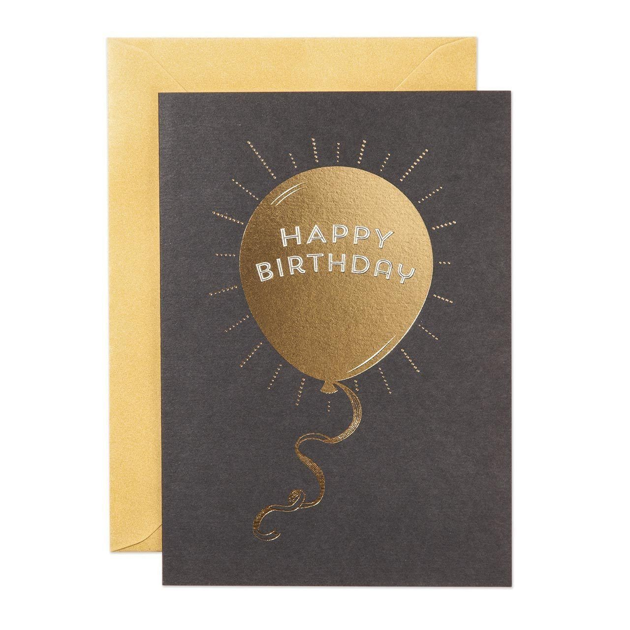 Birthday Balloon Greeting Card - Chase and Wonder - Proudly Made in Britain