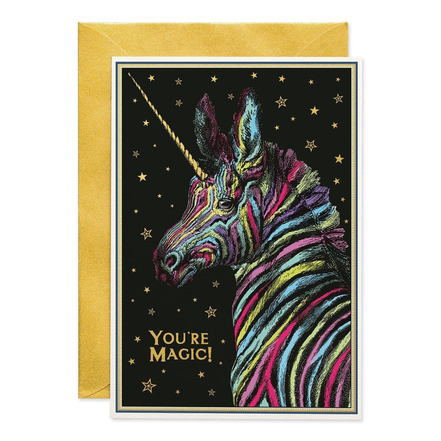 You're Magic greeting card - Chase and Wonder - Proudly Made in Britain