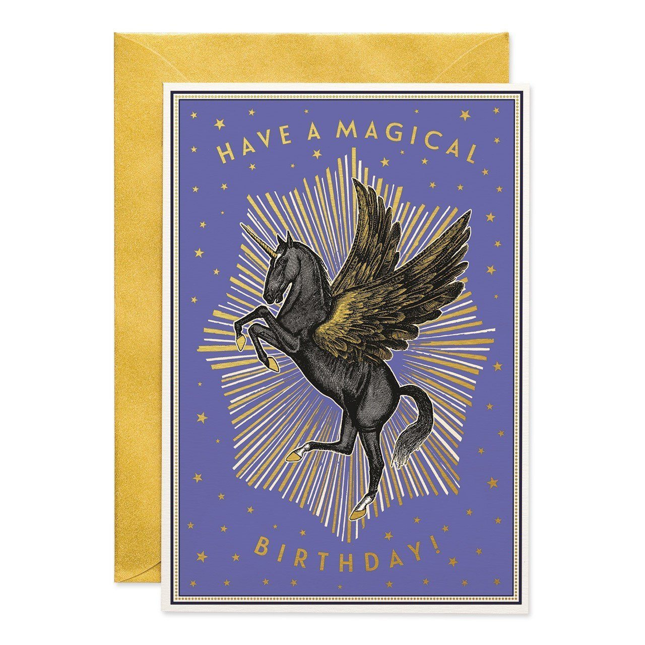 Have a Magical Birthday greeting card - Chase and Wonder - Proudly Made in Britain