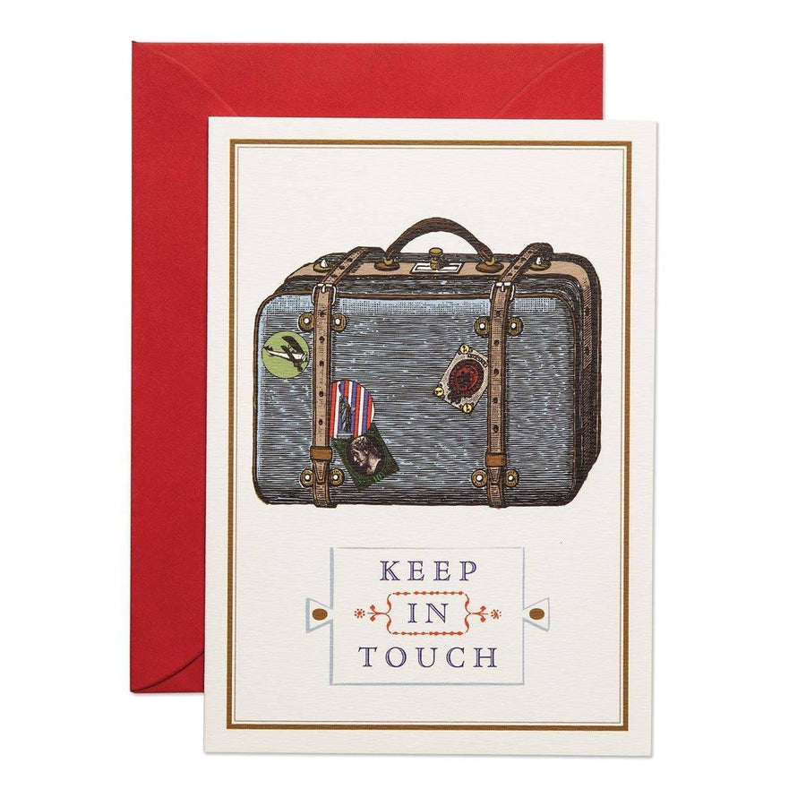 Keep in Touch Greeting Card - Chase and Wonder - Proudly Made in Britain