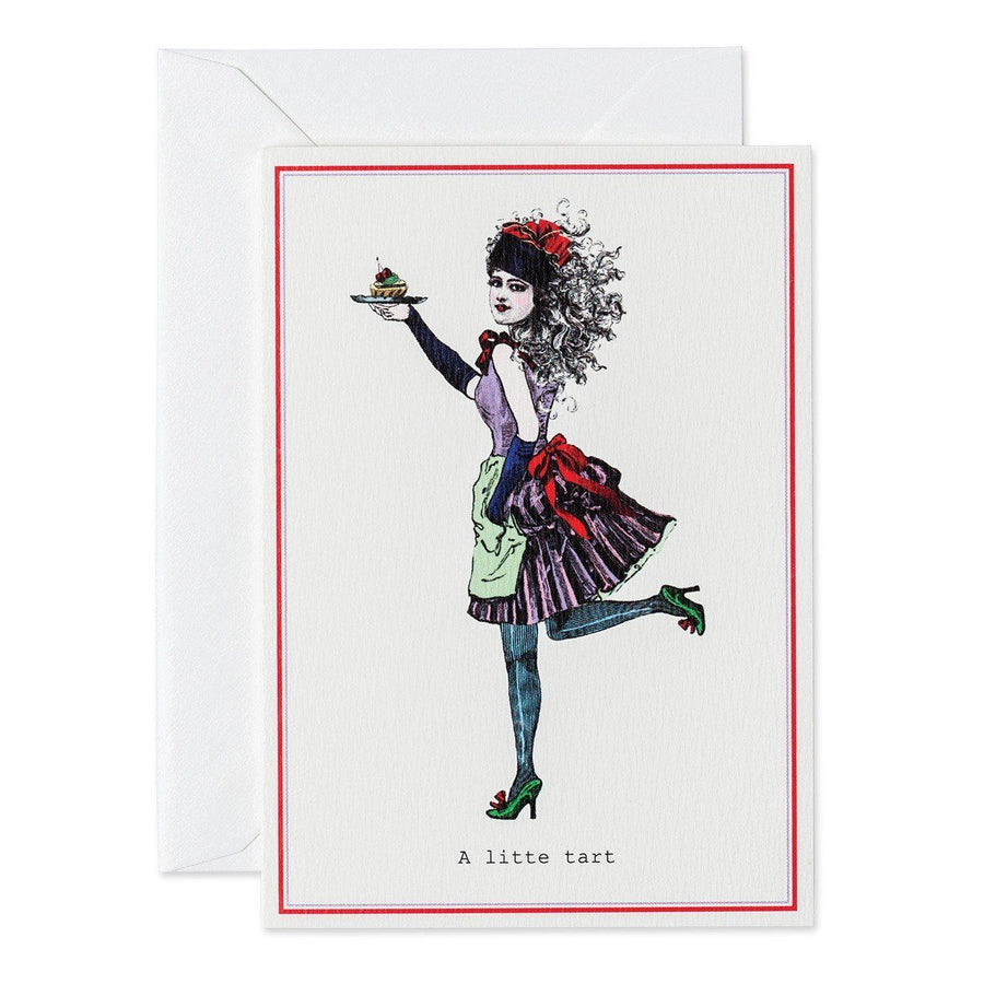 A Little Tart greeting card - Chase and Wonder - Proudly Made in Britain