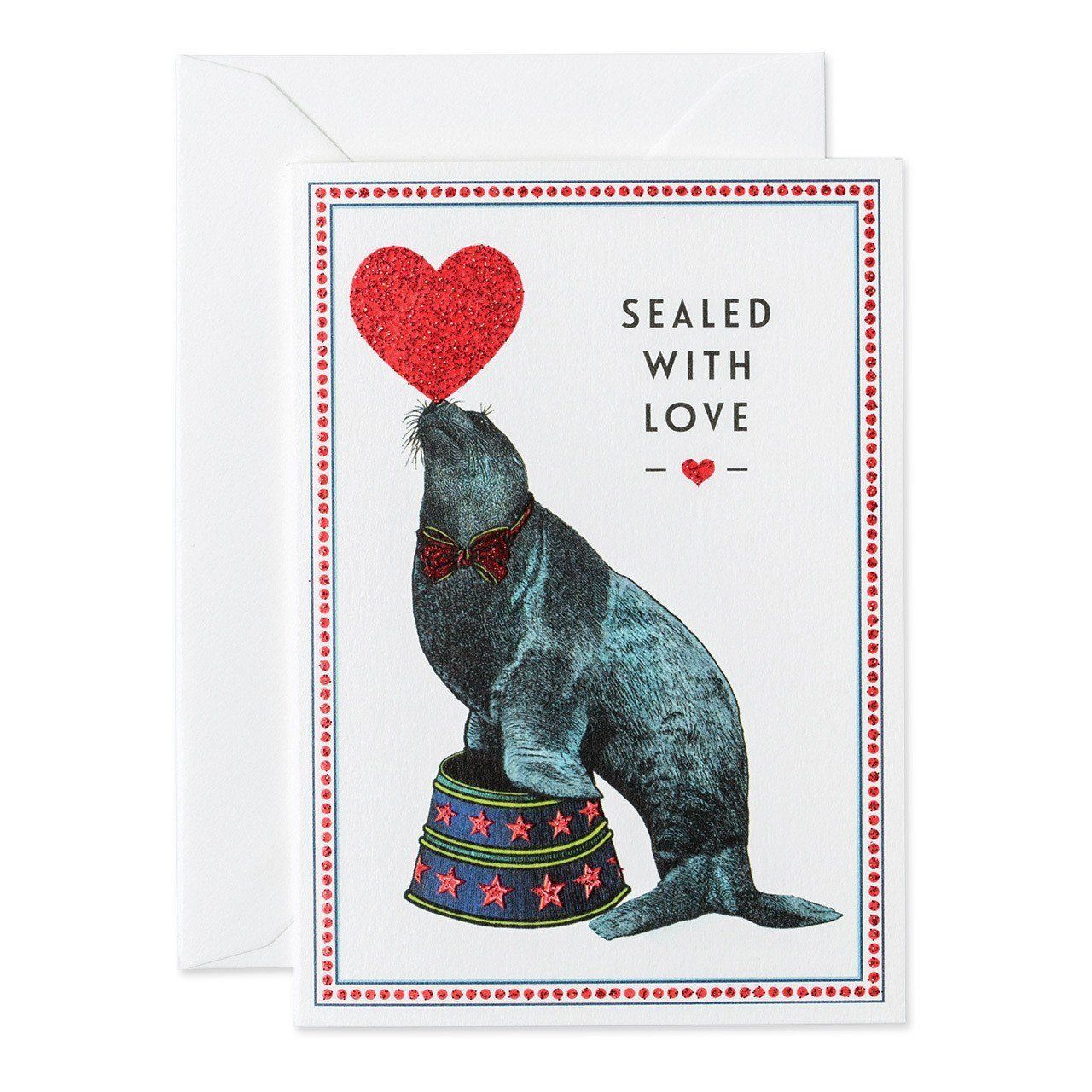 Sealed With Love Small greeting card - Chase and Wonder - Proudly Made in Britain