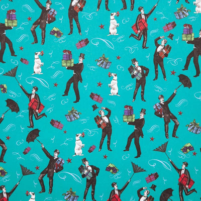 Blown Away Gift Wrapping Paper - Chase and Wonder - Proudly Made in Britain