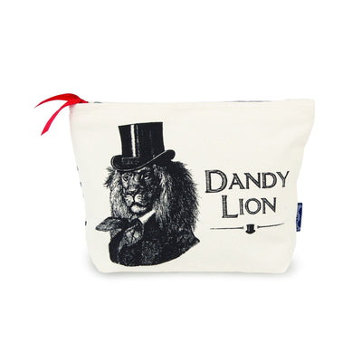 Dandy Lion Wash Bag - Chase and Wonder - Proudly Made in Britain
