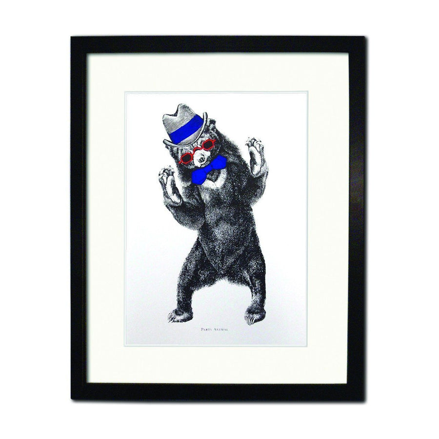 Party Animal (Screen print) - Chase and Wonder - Proudly Made in Britain
