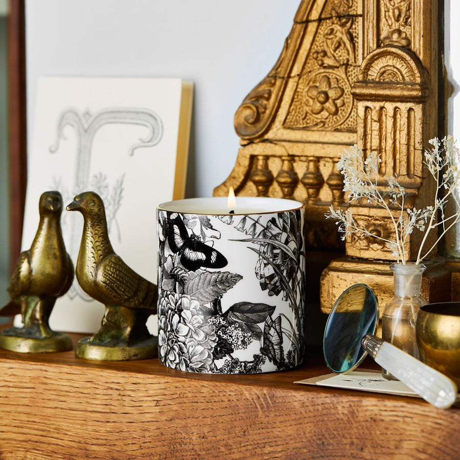 The Country Garden Ceramic Candle