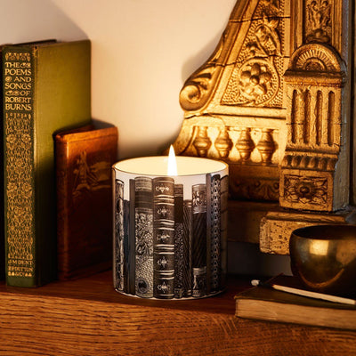 The Library Ceramic Candle - Chase and Wonder - Proudly Made in Britain