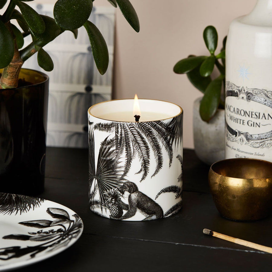 The Tropical Paradise Ceramic Candle