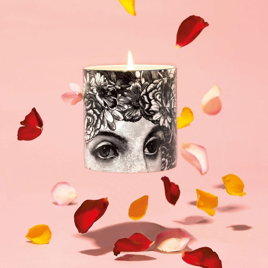 The Flower Lady Fine China Scented Candle - Chase and Wonder - Proudly Made in Britain