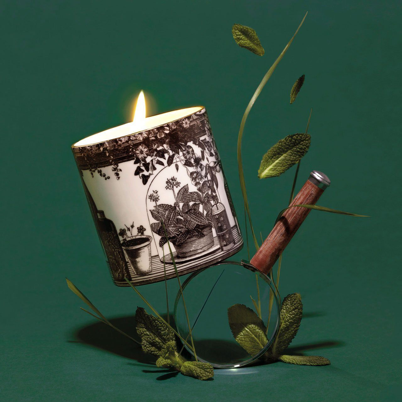 The Botanist Ceramic Candle - Chase and Wonder - Proudly Made in Britain