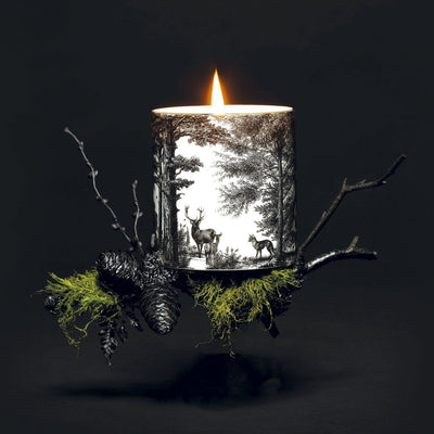 The Enchanted Forest Ceramic Candle - Chase and Wonder - Proudly Made in Britain