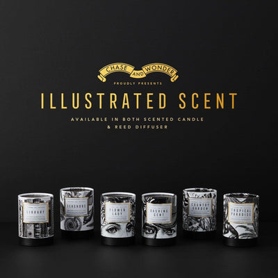 The Dashing Gent Scented Candle - Chase and Wonder - Proudly Made in Britain