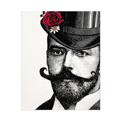 Dashing Gent Open Edition Print - Chase and Wonder - Proudly Made in Britain