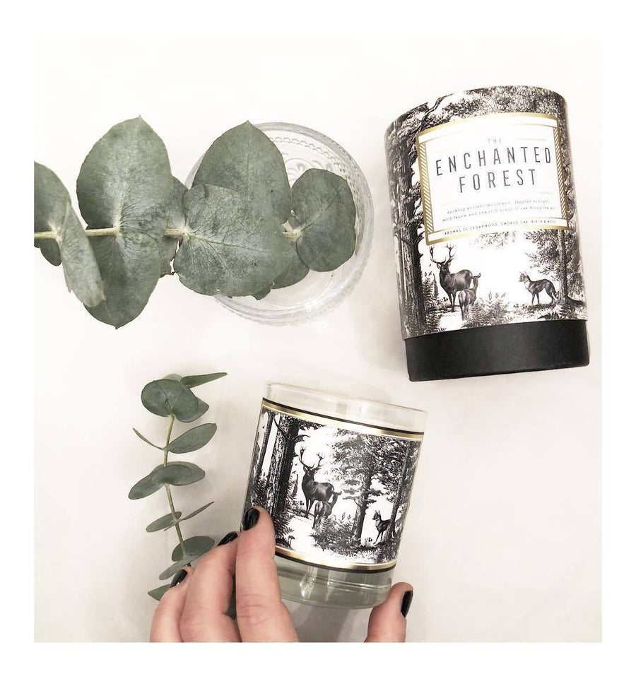 The Enchanted Forest Scented Candle - Chase and Wonder - Proudly Made in Britain