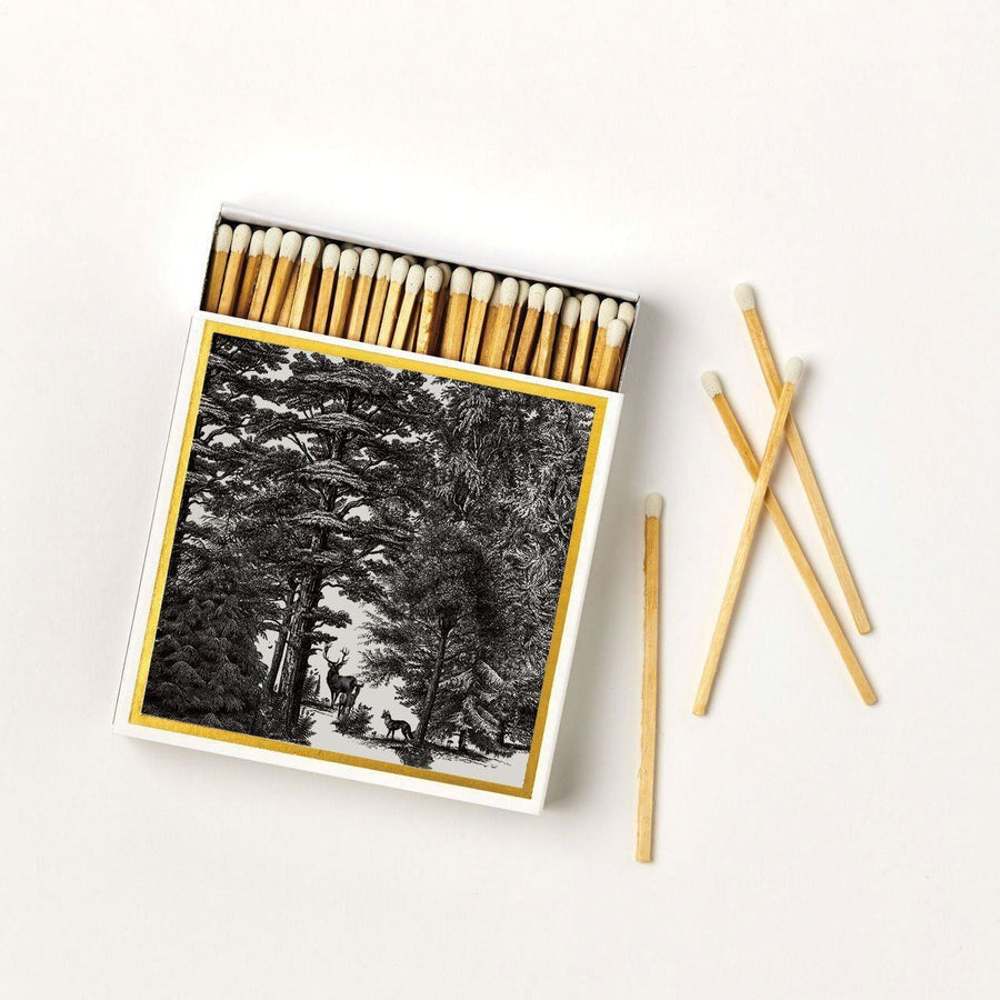 The Enchanted Forest Luxury Matches - Chase and Wonder - Proudly Made in Britain